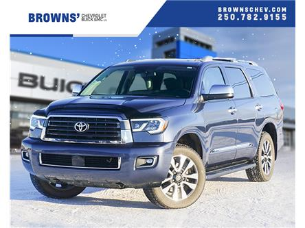 2018 Toyota Sequoia Limited 5.7L V8 (Stk: T19-397A) in Dawson Creek - Image 1 of 16