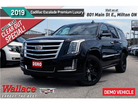 2019 Cadillac Escalade Premium Luxury/DEMO/DVD/NAV/22s/HTD&CLD STS/LOADED (Stk: 149377D) in Milton - Image 1 of 22