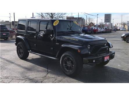 2016 Jeep Wrangler Unlimited Sahara (Stk: 2002B) in Windsor - Image 2 of 13