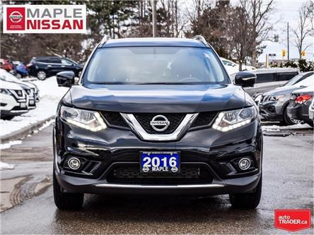 2016 Nissan Rogue SL AWD|Navi|Around View Camera|Leather Heated Seat (Stk: LM461) in Maple - Image 2 of 26