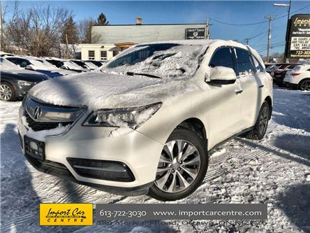 2015 Acura MDX Navigation Package (Stk: 501638) in Ottawa - Image 1 of 27
