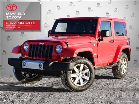 2013 Jeep Wrangler Sahara (Stk: 194296) in Edmonton - Image 1 of 20