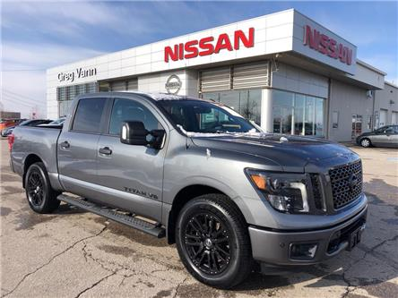 2018 Nissan Titan SV Midnight Edition (Stk: V0829A) in Cambridge - Image 1 of 28