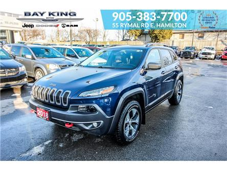 2018 Jeep Cherokee Trailhawk (Stk: 207530A) in Hamilton - Image 1 of 25