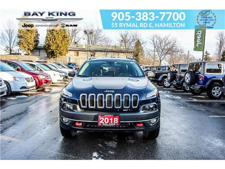 2018 Jeep Cherokee Trailhawk (Stk: 207530A) in Hamilton - Image 2 of 25