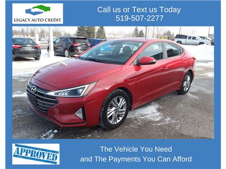 2019 Hyundai Elantra Preferred (Stk: L9226) in Waterloo - Image 1 of 15
