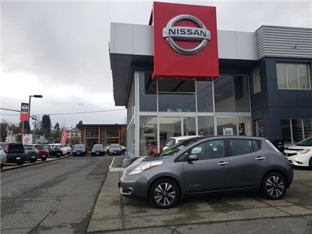 2017 Nissan LEAF SV (Stk: P0136) in Duncan - Image 1 of 11