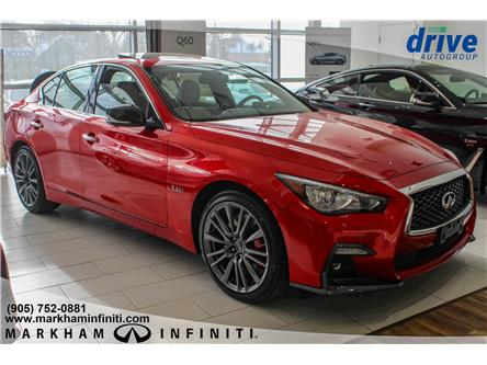 2019 Infiniti Q50 3.0t Red Sport 400 (Stk: P3351) in Markham - Image 2 of 17