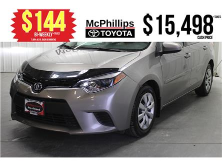 2014 Toyota Corolla LE (Stk: J018544A) in Winnipeg - Image 1 of 30