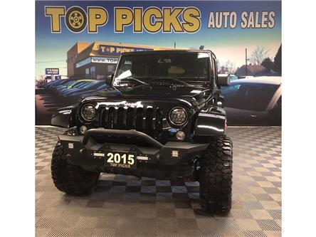 2015 Jeep Wrangler Unlimited Sahara (Stk: 754080) in NORTH BAY - Image 1 of 26