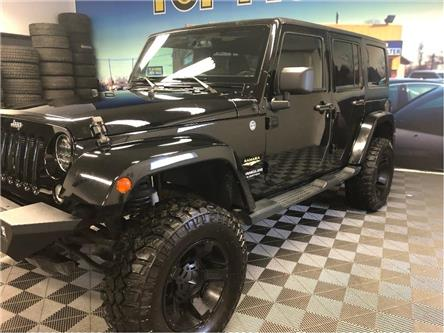 2015 Jeep Wrangler Unlimited Sahara (Stk: 754080) in NORTH BAY - Image 2 of 26