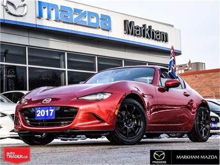 2017 Mazda MX-5 RF GT (Stk: H200072A) in Markham - Image 1 of 28