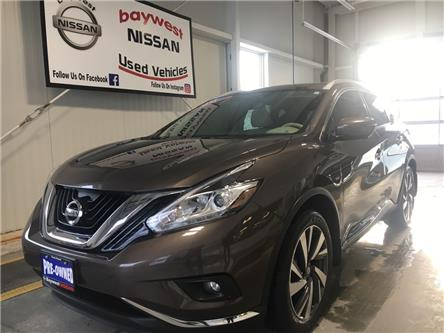 2017 Nissan Murano Platinum (Stk: P0749) in Owen Sound - Image 1 of 15