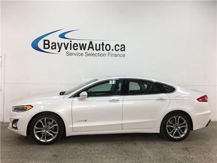 2019 Ford Fusion Hybrid Titanium (Stk: 36160W) in Belleville - Image 1 of 28