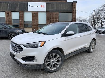 2019 Ford Edge Titanium (Stk: C3596) in Concord - Image 1 of 5
