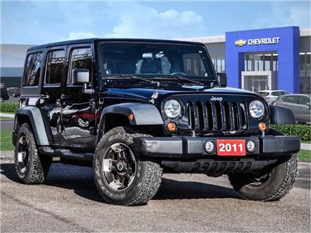 2011 Jeep Wrangler Unlimited Unlimited Sport (Stk: P6420) in Markham - Image 1 of 25
