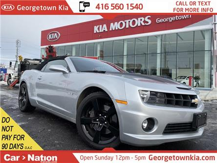 2011 Chevrolet Camaro 2SS   V8   CONVERTIBLE   LEATHER   HUD   BOSTON   (Stk: DR637) in Georgetown - Image 1 of 28
