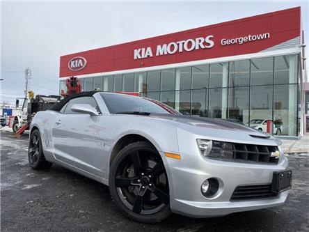2011 Chevrolet Camaro 2SS   V8   CONVERTIBLE   LEATHER   HUD   BOSTON   (Stk: DR637) in Georgetown - Image 2 of 28