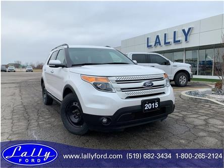 2015 Ford Explorer Limited (Stk: 26086a) in Tilbury - Image 1 of 16