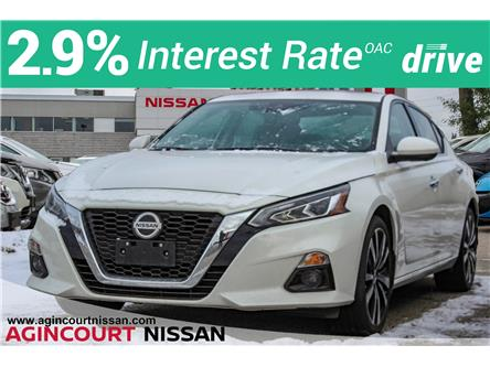 2019 Nissan Altima 2.5 Platinum (Stk: U12739) in Scarborough - Image 1 of 21