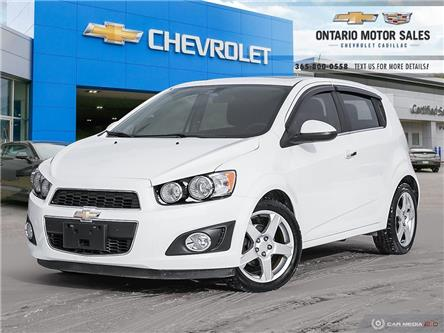 2014 Chevrolet Sonic LT Auto (Stk: 13156B) in Oshawa - Image 1 of 36