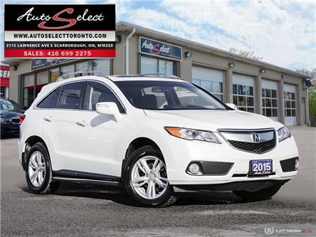2015 Acura RDX Technology Package (Stk: 1AZQ921) in Scarborough - Image 1 of 29