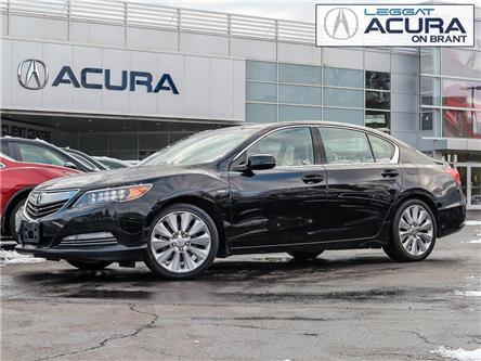 2015 Acura RLX Sport Hybrid Base (Stk: D480) in Burlington - Image 1 of 29
