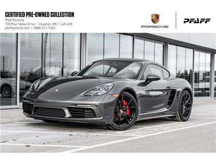 2019 Porsche 718 Cayman S PDK (Stk: U8462) in Vaughan - Image 1 of 21