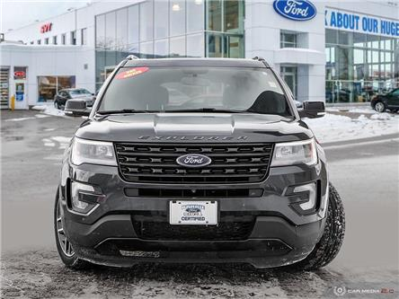 2017 Ford Explorer Sport (Stk: T0088A) in Barrie - Image 2 of 25