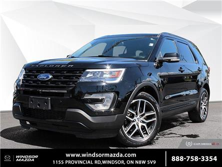 2017 Ford Explorer Sport (Stk: PR6112) in Windsor - Image 1 of 30