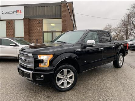 2016 Ford F-150 Platinum (Stk: C3589) in Concord - Image 1 of 5