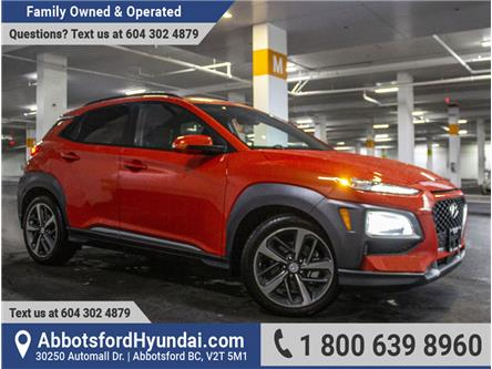 2019 Hyundai Kona 1.6T Ultimate (Stk: KF110704A) in Abbotsford - Image 1 of 27