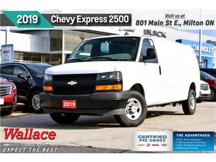 2019 Chevrolet Express 2500 ONLY 19K | BLUETOOTH | REAR CAMERA | SIDE DOOR (Stk: PR5097) in Milton - Image 1 of 21