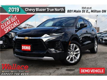 2019 Chevrolet Blazer 3.6 True North/DEMO/AWD/SUNRF/20s/NAV/HTD STS (Stk: 585266D) in Milton - Image 1 of 17