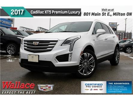 2017 Cadillac XT5 PREMIUM LUXURY | AWD | SUNRF | NEW TIRES | 1 OWNR (Stk: PL5263) in Milton - Image 1 of 22