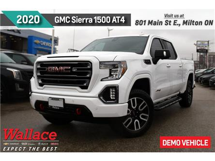 2020 GMC Sierra 1500 4WD Crew Cab 147  AT4 (Stk: 136820D | DEMO) in Milton - Image 1 of 15