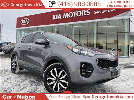 2017 Kia Sportage EX | AWD | APPLE/ANDROID | HTD SEATS | B/U CAM | (Stk: P12897) in Georgetown - Image 1 of 32