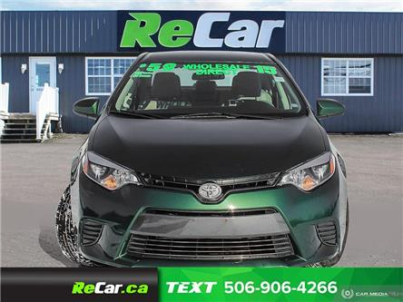 2015 Toyota Corolla CE (Stk: 191427A) in Fredericton - Image 2 of 21