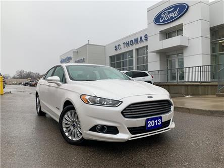 2013 Ford Fusion Hybrid SE (Stk: S0081A) in St. Thomas - Image 1 of 26