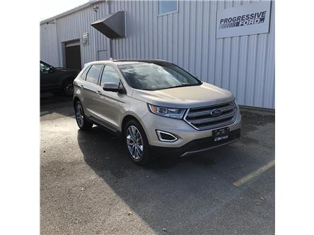 2017 Ford Edge Titanium (Stk: HBB65747T) in Wallaceburg - Image 1 of 16