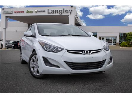 2015 Hyundai Elantra GL (Stk: K825710A) in Surrey - Image 1 of 22