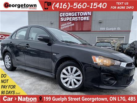 2017 Mitsubishi Lancer ES   BACK UP CAM   HEATED SEATS   TOUCH SCREEN   (Stk: GSP175) in Georgetown - Image 1 of 24
