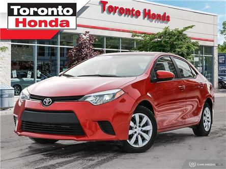 2014 Toyota Corolla LE (Stk: H39872A) in Toronto - Image 1 of 27