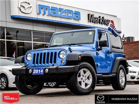 2014 Jeep Wrangler Sport (Stk: D190481A) in Markham - Image 1 of 23