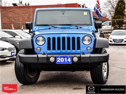 2014 Jeep Wrangler Sport (Stk: D190481A) in Markham - Image 2 of 23