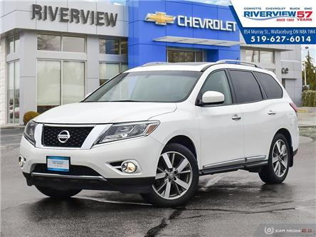 2014 Nissan Pathfinder Platinum (Stk: 19425D) in WALLACEBURG - Image 1 of 27