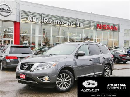 2016 Nissan Pathfinder SL (Stk: RY20P004A) in Richmond Hill - Image 1 of 28