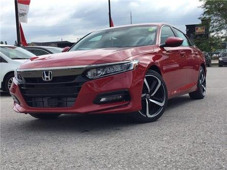 2020 Honda Accord Sport 2.0T (Stk: 20470) in Barrie - Image 1 of 22