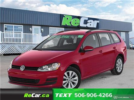 2016 Volkswagen Golf Sportwagon 1.8 TSI Trendline (Stk: 200083A) in Saint John - Image 1 of 22
