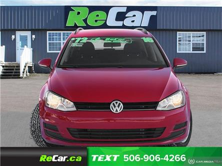 2016 Volkswagen Golf Sportwagon 1.8 TSI Trendline (Stk: 200083A) in Saint John - Image 2 of 22
